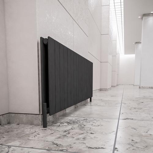 İnorava Nogay Yatay Çelik Dizayn Radyatör Antrasit 600/1254