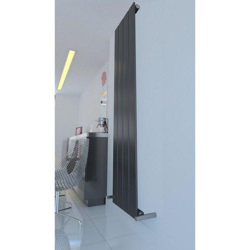 İnorava Targan Dikey Çelik Dizayn Radyatör Antrasit1600/366