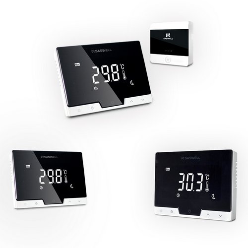 Saswell T19 Wi-Fi Oda Termostatı Programlanabilir