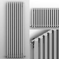 İmsan Bamboo Krom Çelik Dizayn Radyatör
