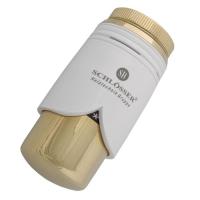 Schlösser Beyaz-Altın Termostatik Vana Kafası