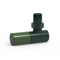 İmsan Gri Yeşil - Çimen Yeşili Radyatör Vanası