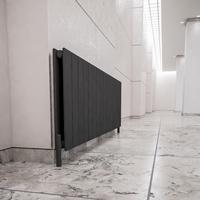 İnorava Nogay Yatay Çelik Dizayn Radyatör Antrasit 600/440