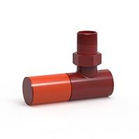 İmsan Sinyal Kırmızı - Trafik Turuncu Radyatör Vanası