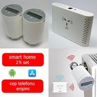 Saswell 2 Termostatik Vana Kafalı Akıllı Ev Isıtma Sistemi